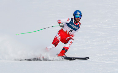 Alpine Skiing - FIS Alpine World Ski Championships - Men's Alpine Combined - Downhill