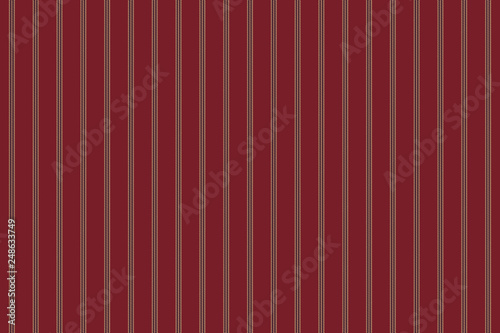 Red stripe fabric texture seamless pattern