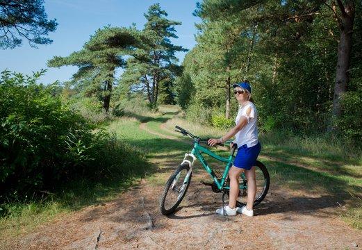 Radfahren, Römö, Kirkeby, Dänemark