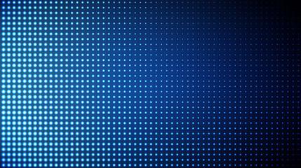 Glowing halftone dots pattern