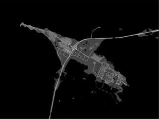 map Kronstadt, Saint Petersburg, Russia
