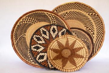 african grass baskets