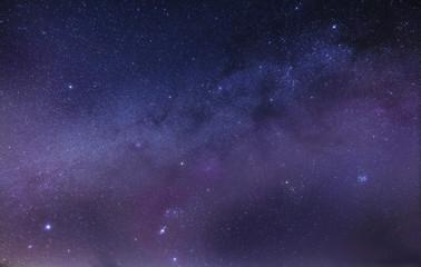 Night sky full of stars. Rifts of the MIlky Way