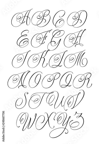 updated handwritten chicano script font hand drawn