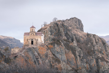 10th century Shoaninsky temple, the oldest Christian church in Russia, Karachay-Cherkessia, Caucasus