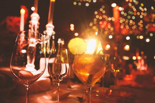 Cabaret Cocktail Event