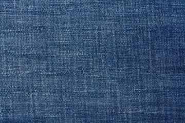 Close up of blue denim jeans.