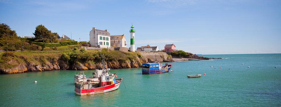 Port de Doëlan en Bretagne > Finistère > France