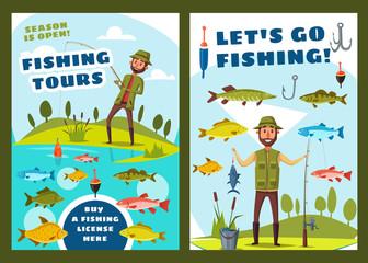 Fishing and big fish catch tours