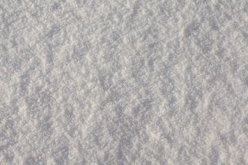 Winter white snow surface