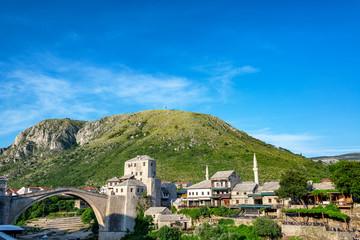 Old Bridge in Historic Mostar, Bosnia