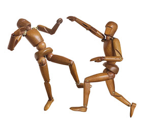bonhomme en bois, wooden man, karaté , judo, karat, mouvement, fight, defance, sports, défense ,  mannequin, bois, figure, modèle, poupée, blanc, figurine, humain, jouet, art, personne, gens, artiste,