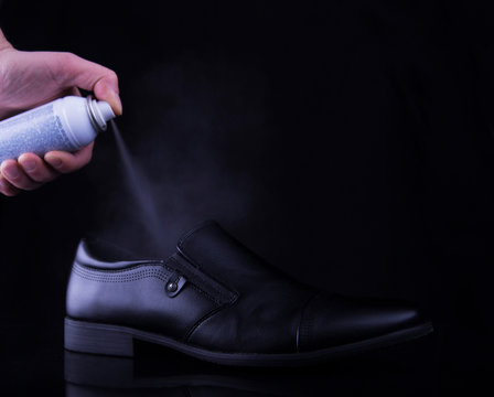 deodorant for men's shoes to get rid of unpleasant smell