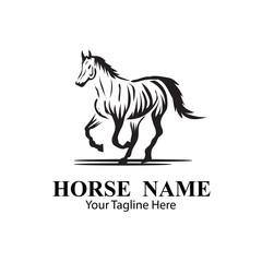 HORSE LOGO DESIGNS CONCEPT