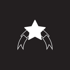 award icon. Simple element illustration. award symbol design template. Can be used for web and mobile