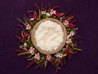Floral Newborn Background
