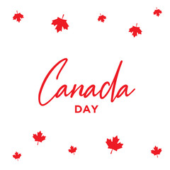 National Flag Day of Canada Vector Design