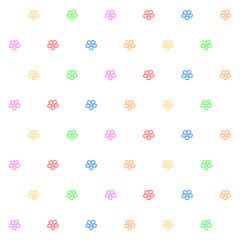 Flowers colors pattern