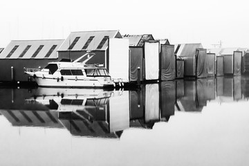 Harbor Reflections