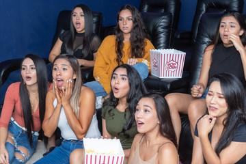 Friends Watching Movies