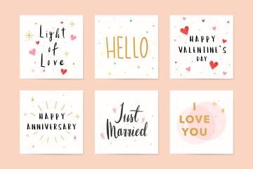 Festive greeting cards