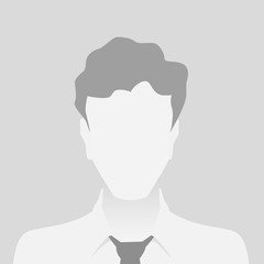 Person gray photo placeholder man material design