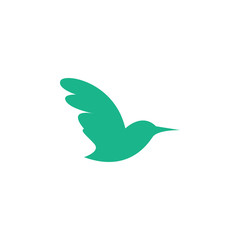 Minimalist Bird logo