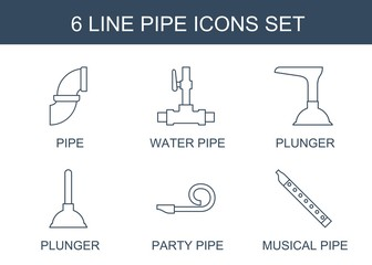pipe icons