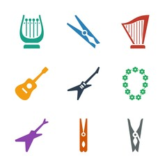 string icons
