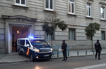 Trial of jailed Catalan separatist leaders in Madrid