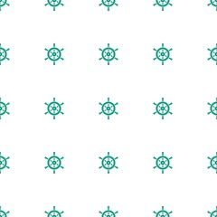 helm icon pattern seamless white background