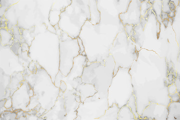 Luxury Marble background with gold pattern texture vector.