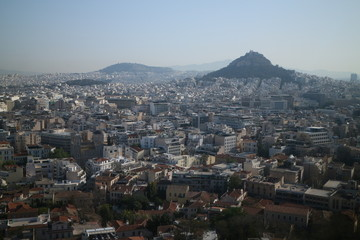 landscapes of Athens