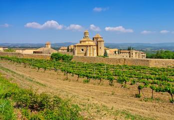 das Kloster Santa Maria de Poblet in Katalonien, Spanien - Monestir de Santa Maria de Poblet