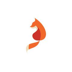 Animals fox logo