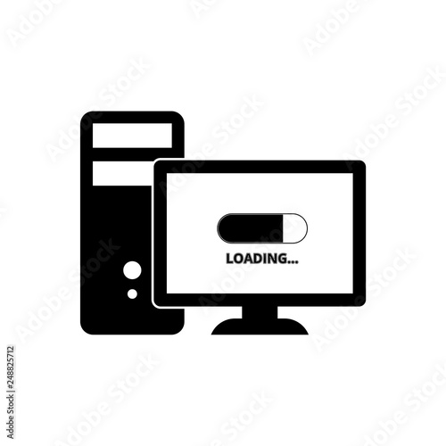 computer loading everything slow