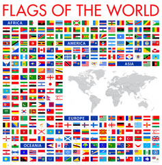 All World Flags - Vector Icon Set