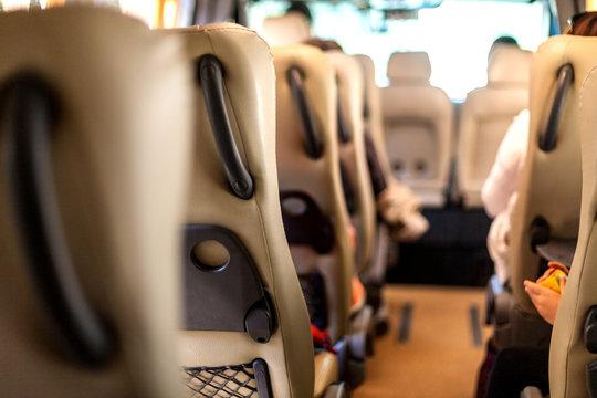 Transportation of people in a minibus, A trip in a minibu