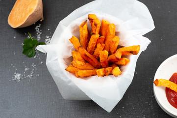 Oven Baked Sweet Potato Fries