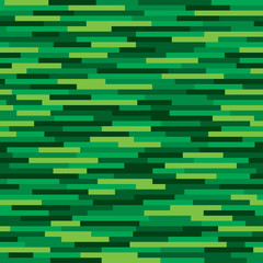 Abstract background vector seamless pattern in glitch style for print poster, website, brochure cover and other design projects. Digital green backdrop.