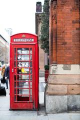 London telephone box.