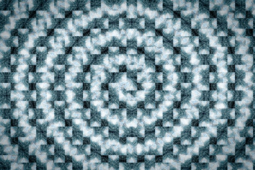 architectural pattern, spiral texture from architectural elements