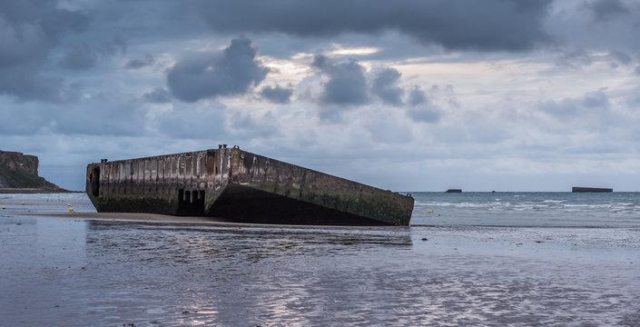 Gold Beach, Arromanches, Normandy