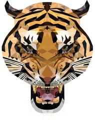 tygrys low poly