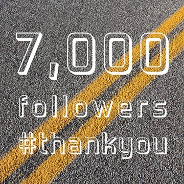 7000 followers