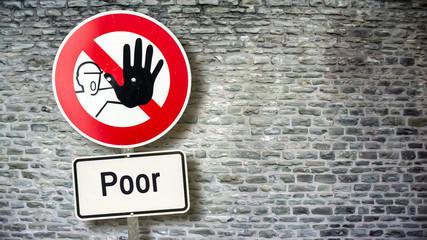 Sign 389 - Poor