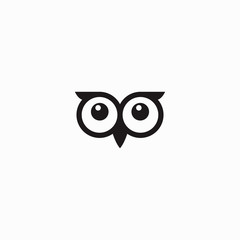 Owl eye icon