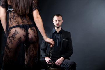Wife husband relationship big handcuffs