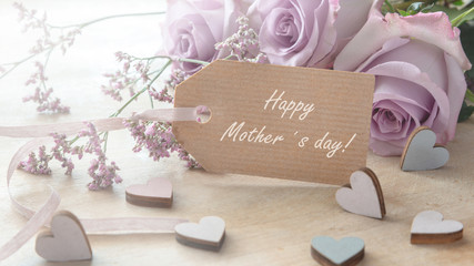 Happy mother´s day-greeting card