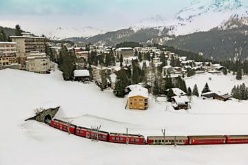 Der Zug nach Arosa